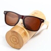 BARCUR 2016 Real Polarized Wood Bamboo Sunglasses Retro Men And Women Luxury 100 Handmade Vintage Glasses
