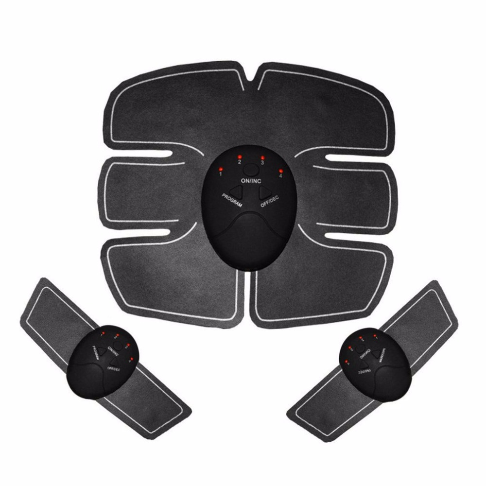 2018 Perfect Body Device Wireless Muscle Stimulator Fitness Massage Health Care Smart Electric Abdominal Muscle Trainer Massager 3pcs set wireless intelligent abdominal muscle trainer lacy body massager fitness equipment for home use for women hot sale