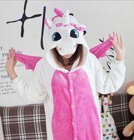 New Fashion Fleece Lovely Adult Unisex Animal Lovely Dairy Unicorn Pajamas Onesie Sleepsuit Cosplay Sleepwear Onesie