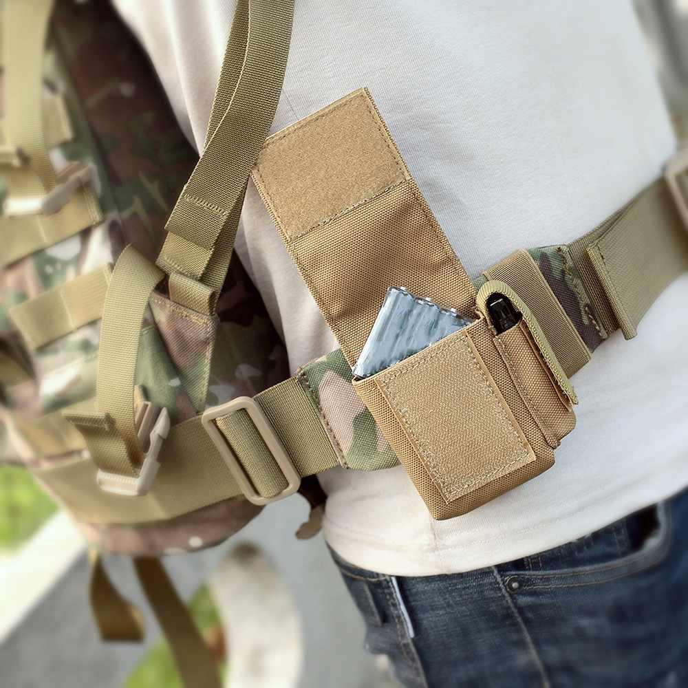 Тактический Чехол Molle EDC, универсальная сумка для хранения, чехол для батареи, сумка для шлема, поясная сумка, кошелек, аксессуары для охоты
