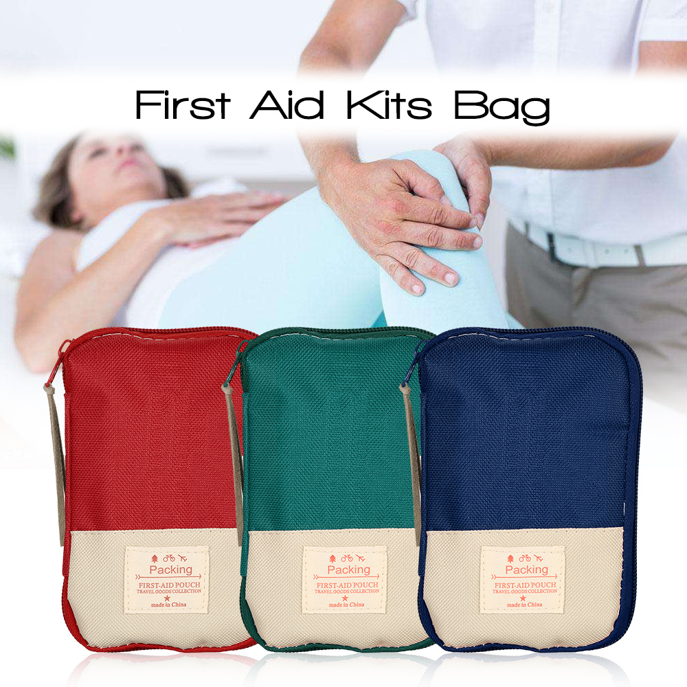 Image 5 - Camping Hiking Travel Home Outdoor Survival Kits Emergency Pouch Case First Aid Kits Bag-in Safety & Survival from Sports & Entertainment
