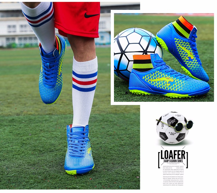 2017 High Ankle Superfly Boys Kids Football Boots Cheap Indoor Soccer Shoes Cleats Girls Sneakers High Quality voetbalschoenen7