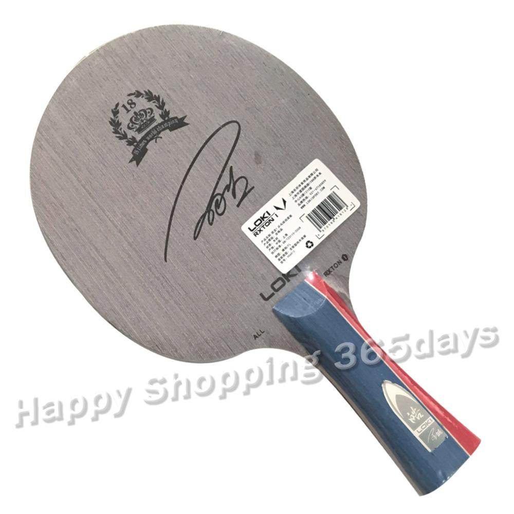 Wang Hao LOKI RXTON 1 Pure Wood Table Tennis Blade/ Ping Pong Blade/ Table Tennis Bat