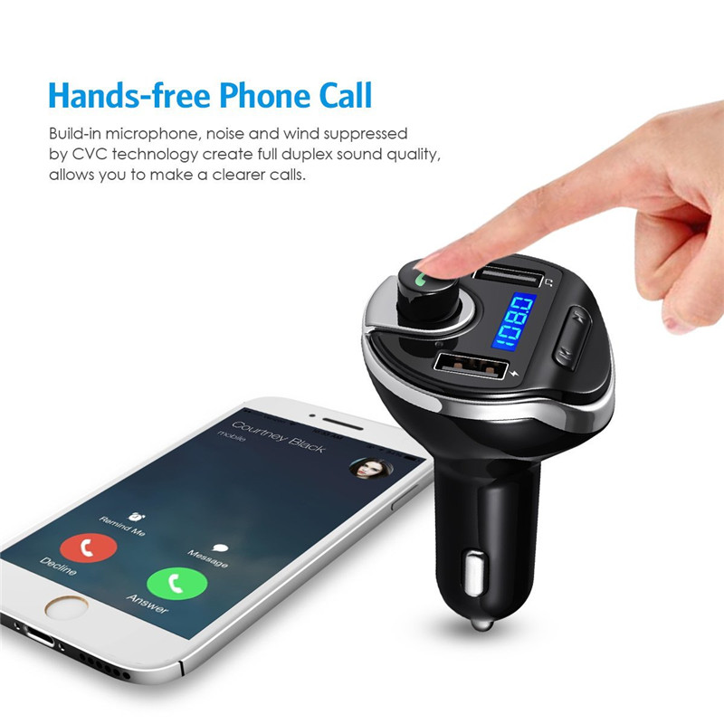 Detail Feedback Questions About Anlud Bluetooth Fm Transmitter Rhaliexpress: Mp3 To Radio At Gmaili.net