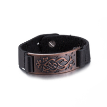 2017 Jewelry Hologram Bracelets Rock Bikers Wide Bangle Rivet Alloy Leather Bracelet Men Casual Vintage Punk Bracelet