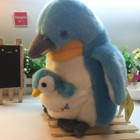 Mother And Child Simulation Penguin Doll Toy Emperor Penguin Plush Toy Birthday Gift