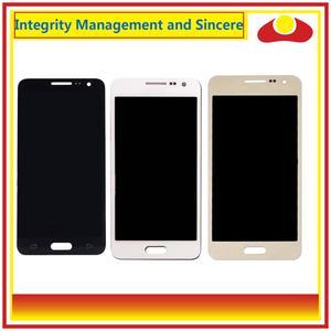 Image 2 - 10 adet/grup Samsung Galaxy A3 2015 A300 A3000 A300F A300M lcd ekran Ile dokunmatik ekran digitizer Paneli Pantalla Komple