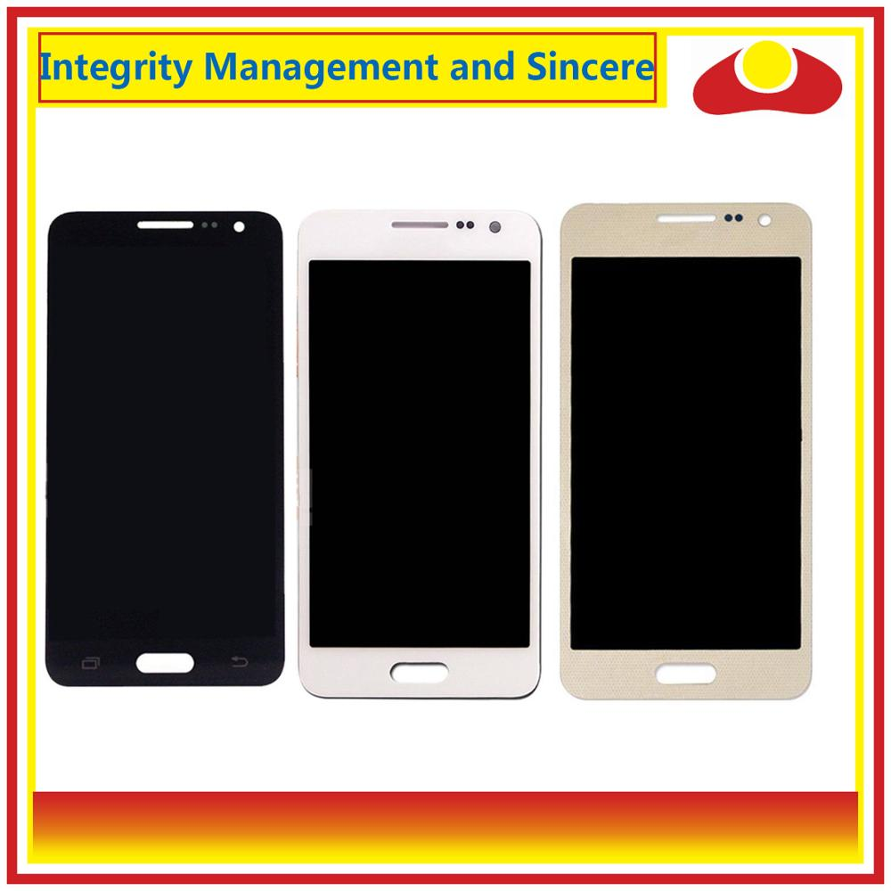 Image 2 - ORIGINAL For Samsung Galaxy A3 2015 A300 A3000 A300F A300M A3000 LCD Display With Touch Screen Digitizer Panel Pantalla Complete-in Mobile Phone LCD Screens from Cellphones & Telecommunications