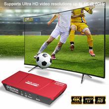 Tesla smart HDMI Splitter 1x2  HDMI 2 Port Splitter 4K@60Hz 1080P   High quality with Power Adapter HDMI HDTV DVD PS3 Xbox top quality 4k 3840 2160 16 port hdmi splitter 1x16 with power adapter hdtv dvd ps3 xbox