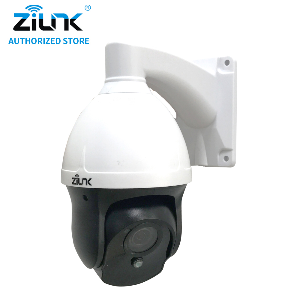 ZILNK New Mini 1080P 2MP HD 3 inch Pan Tile Zoom Speed Dome IP Camera Waterproof CCTV Support Motion Detection ONVIF H.264 Wired hd 1080p pan