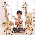 Бесплатная Доставка 90 см Жираф Мультфильм Хороший Жираф Зеленый арло Мягкие игрушки Плюшевые Мягкие Игрушки для Девочек подарки