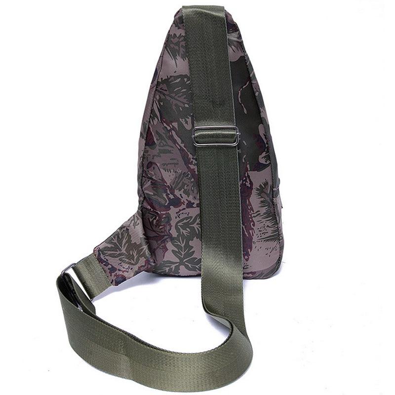 A Borse Body army Black Nylon camouflage Green Viaggi Cross Sling Tracolla Petto Zaino Spalla Climb Bag Uomo Militare Singola Casuale OT4F6