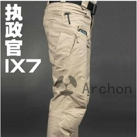 IX7 Gear Cotton Military City Tactical Pants Men Spring Army Combat Cargo Pants SWAT Soldier Training