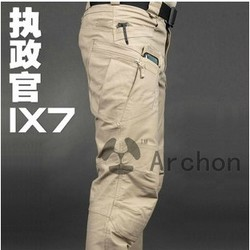 IX7 Gear Cotton Military City Tactical Pants Men Spring Army Combat Cargo Pants SWAT Soldier Training Sport Hike Outdoor Trouser