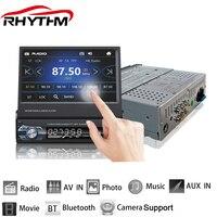 Rhythm 12V Car Stereo Bluetooth FM Radio MP5 Audio Player Phone USB TF Radio In Dash