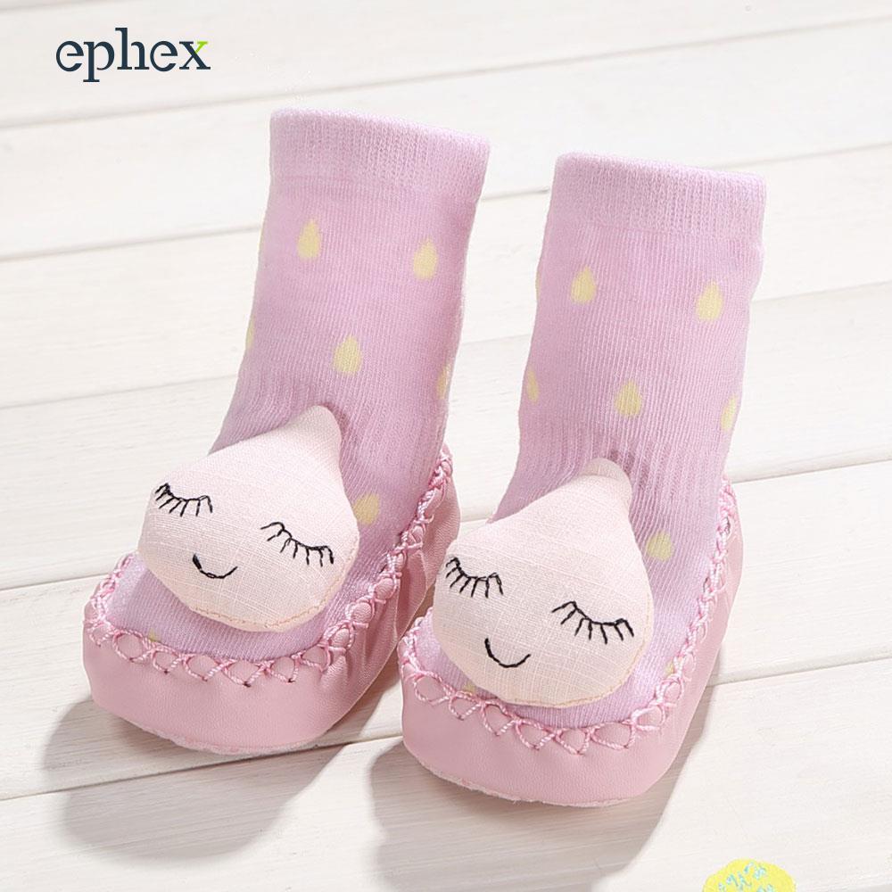 Ephex для обуви носок дети малышей Носки для девочек хлопок 6 шаблон S/M/L Профессиональный мужской Обложка Home