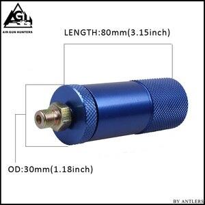 Image 5 - Bomba de mano PCP de alta presión 4500ps separador de aceite y agua con manguera, conector hembra y macho, tanque de aire pcp M10 * 1 set