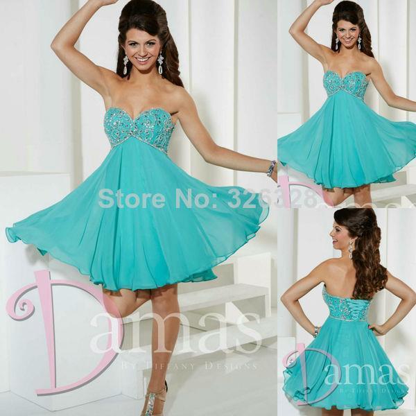 Popular Aqua Cocktail Dress-Buy Cheap Aqua Cocktail Dress lots ...
