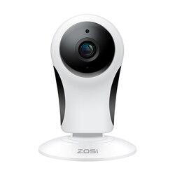 ZOSI bezprzewodowa kamera Wi Fi IP 1080P Full HD kryty noktowizor nadzór Mini kamera ochrony domu dwukierunkowy dźwięk i alarm w Kamery nadzoru od Bezpieczeństwo i ochrona na