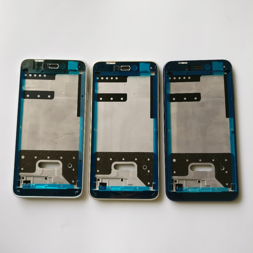 10 PCS For Huawei P8 Lite 2017 P9 Lite 2017 honor 8 lite Front Housing Chassis