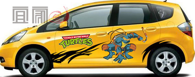 Ninja Turtle Car Decal