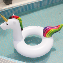 Huge Inflatable Unicorn Swim Ring – 2 Sizes