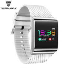 VESTMADRA X9 Pro Color Screen Smart Bracelet Blood Pressure Oxygen Heart Rate Monitor Wristband Call SMS Alert for Android ios