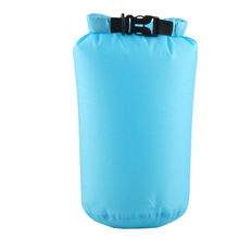LUCKSTONE 8L 15L Ultra Light Waterproof Outdoor Dry Bags Colorful Folding Portable Packages for Camping Hiking Swimming Drifting