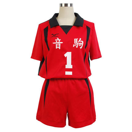 NO 1 NO 5 Anime Haikyuu Nekoma High School Uniform Jersey Kuroo Tetsurou Cosplay Costume Unisex Size XS-XL