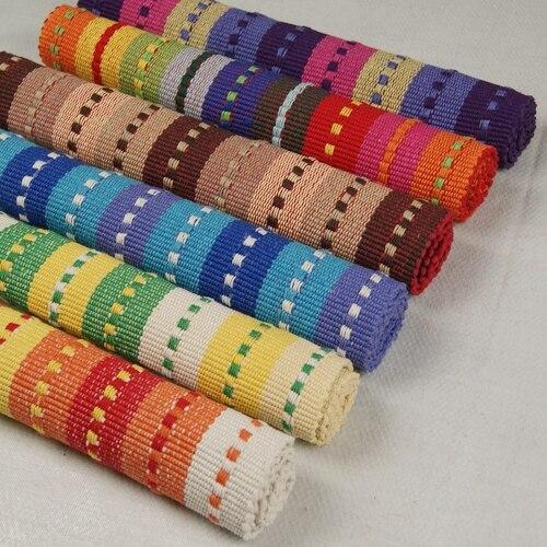 Bétail coloré série tapis tapis paillasson canapé coussin tapis de bain 100% coton tapis 45 70 cm chromophous