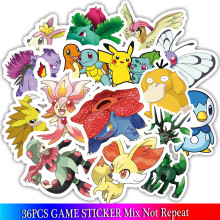 Pokemon Stickers 3D Stickers Anime Stickers Set 36PCS