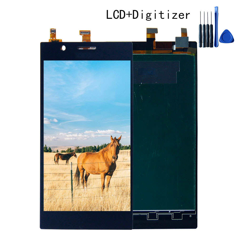 5.5 High Quality For lenovo K900 Touch Screen Digitizer LCD Display Assembly 1920*1080 Free shipping