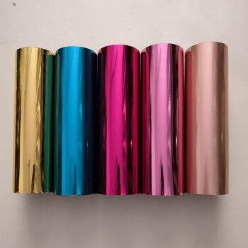 Feuille de marquage à chaud mixte autres couleurs presse à chaud sur papier ou plastique 21 cm x 120 m film de marquage à chaud