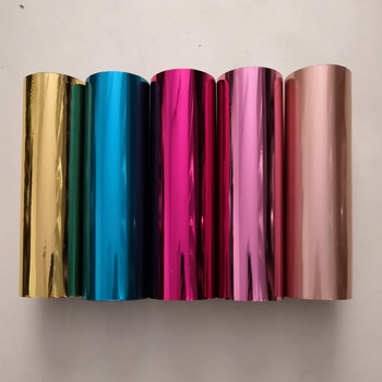Mixed hot stamping foil other colors hot press on paper or plastic 21cm x 120m heat stamping film