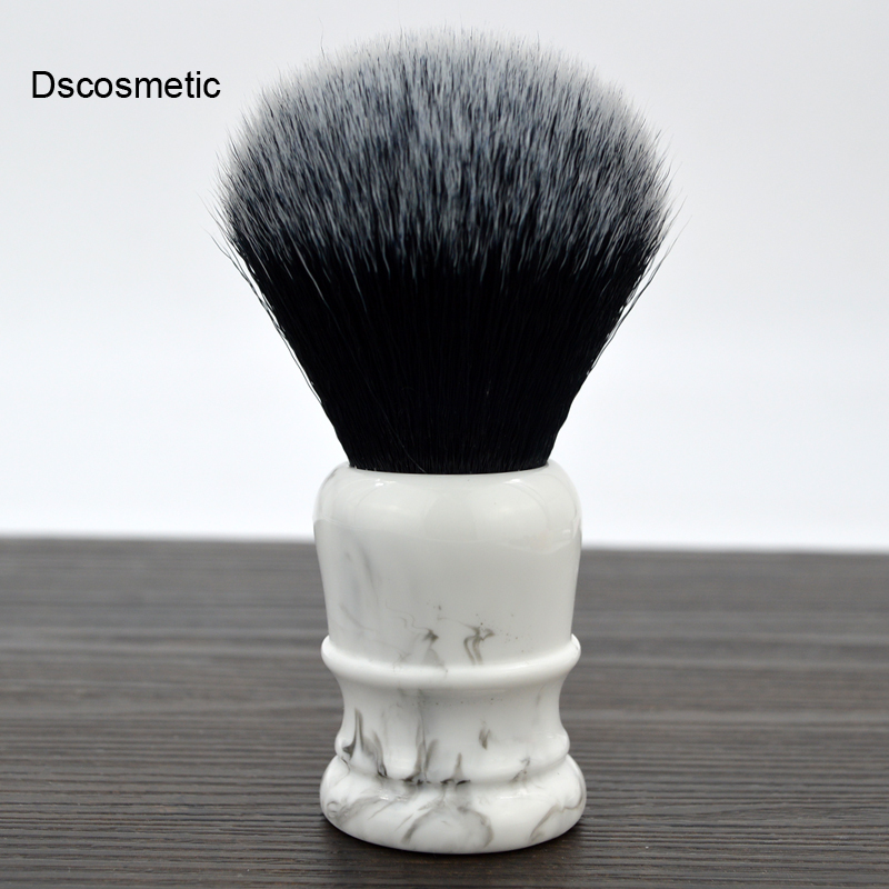 Soft Synthetic Hair Shaving Brush With 26MM  Good Tuxedo Knot And Resin Handle For Man Wet Shave