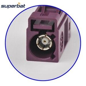Image 3 - Только 10 шт. Fakra обжимной разъем для Фиолетовый Автомобиль сотовый телефон GSM для кабеля RG316 LMR100