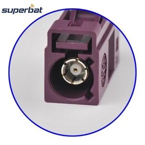 Image 3 - Superbat 10 pièces Fakra sertissage Jack connecteur pour voiture violette GSM téléphone cellulaire pour câble RG316 LMR100