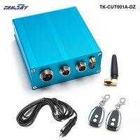 Electric Exhaust Cut out Vlave Controller +2 Remote Kit For Exhaust Catback Downpipe TK-CUT001A-DZ
