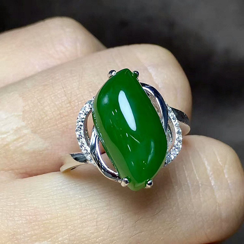 Fine jewelry, female natural stone ring, 925 pure silver wholesale/4 wholesale 1 4 2v3a