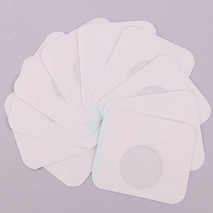 10 sztuk cienka łata schudnąć spalanie tłuszczu biała cienka łata lifting twarzy narzędzia tradycyjna medycyna chińska odchudzanie naklejka na pępek