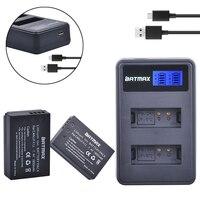 2Pcs 1800mAh LP E12 LPE12 LP E12 Camera Battery Batterie AKKU LCD USB Charger For Canon