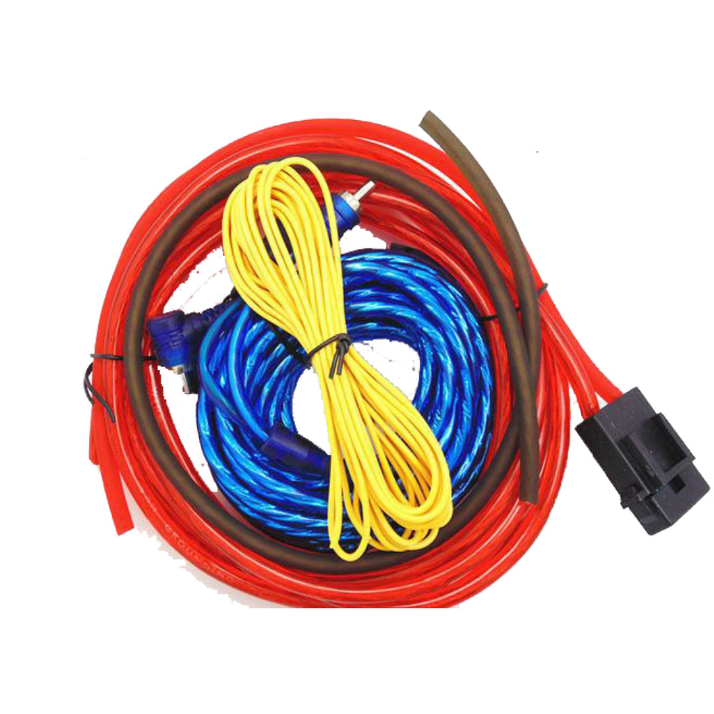 Best Price Car Audio Wire Wiring Amplifier Subwoofer Speaker Cable Pinout Network Installation Wires Cables Kit 60w 4m Length Professional In Ducts From Home Improvement