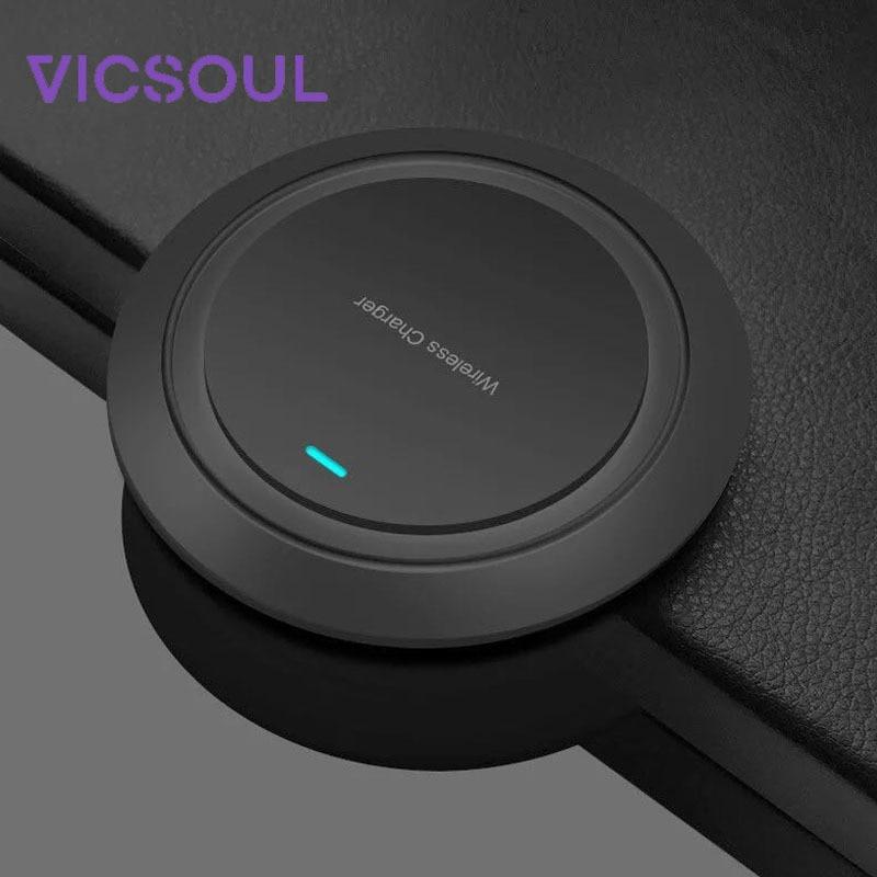 Handy-zubehör Vicsoul Qi Drahtlose Ladegerät Für Iphone 8/x/xr/xs/max Samsung Galaxy S9 S8 S7 S6 Standard 5 W Wireless Charging Pad Qi-zertifiziert