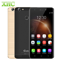 Gretel A6 4G Mobile Phone 5.5 inch Adroid 6.0 MTK6737 Quad Core 1.3GHz Dual SIM Fingerprint Smartphone RAM 2GB ROM 16GB 13MP