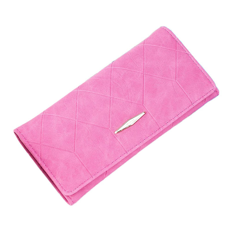 OCARDIAN 2018 Women Solid Hasp Coin Purse Long Wallet Card Holders Handbag Fashion Pu # p 4