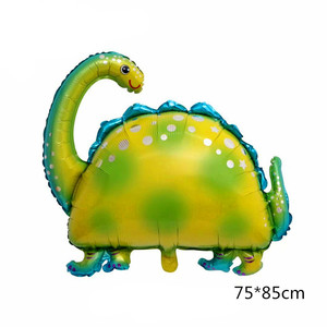 Image 4 - Jungle Party Decoration Dinosaur Balloons Happy Birthday Paper Garland Banner Baby Shower Kids Birthday Dinosaur Party Supply