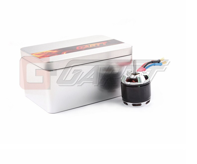 ФОТО F11116 1 Piece GARTT MT-014-A HF500-1600KV 1700W (500) Brushless Motor with Iron Box for 500 RC Helicopter