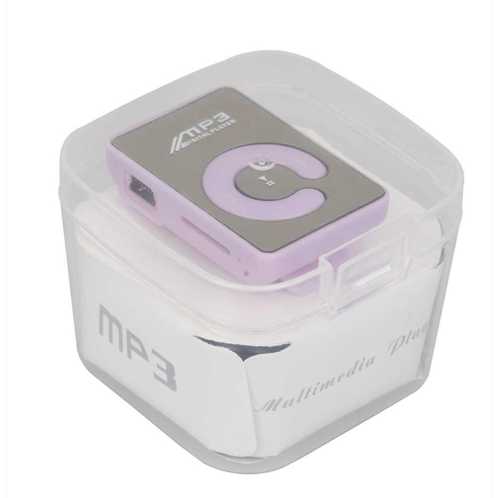 Mini USB MP3 reproductor de medios de música Micro SD TF Tarjeta de hasta 16GB Bluetooth MP3