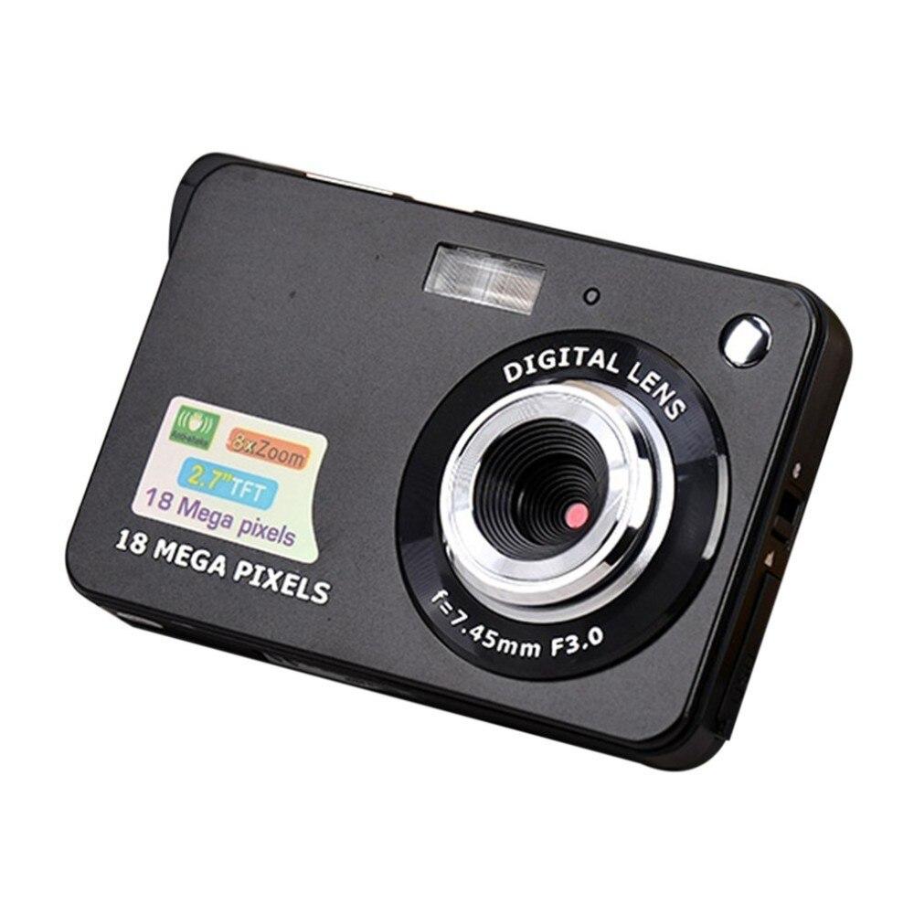 2.7 Inch TFT LCD Display 18MP 720P 8x Zoom HD Digital Camera Anti-Shake Camcorder Video CMOS Micro Camera Children Gift(China)