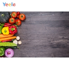 Wood Board Background Vegetable Backdrop Baby Kids Photography Backdrop Children Birthday Party Photocall For Photo Studio fantasy leaves orange white wood board baby shower backdrop background fond studio photo vinyle